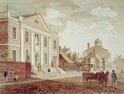 First Lending Library, 1731