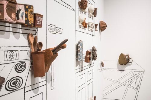 photo of Adam Ledford's exhibit