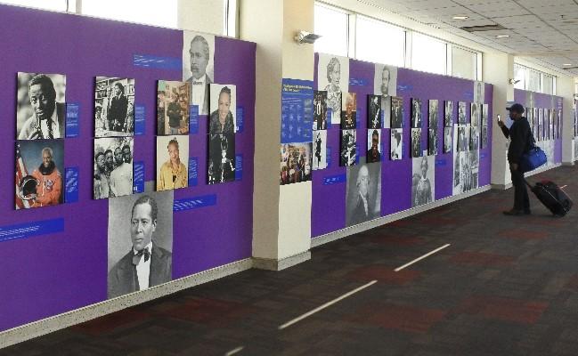 photo of PHILADELPHIA'S 100 HISTORY MAKERS OF THE 20TH CENTURY exhibit