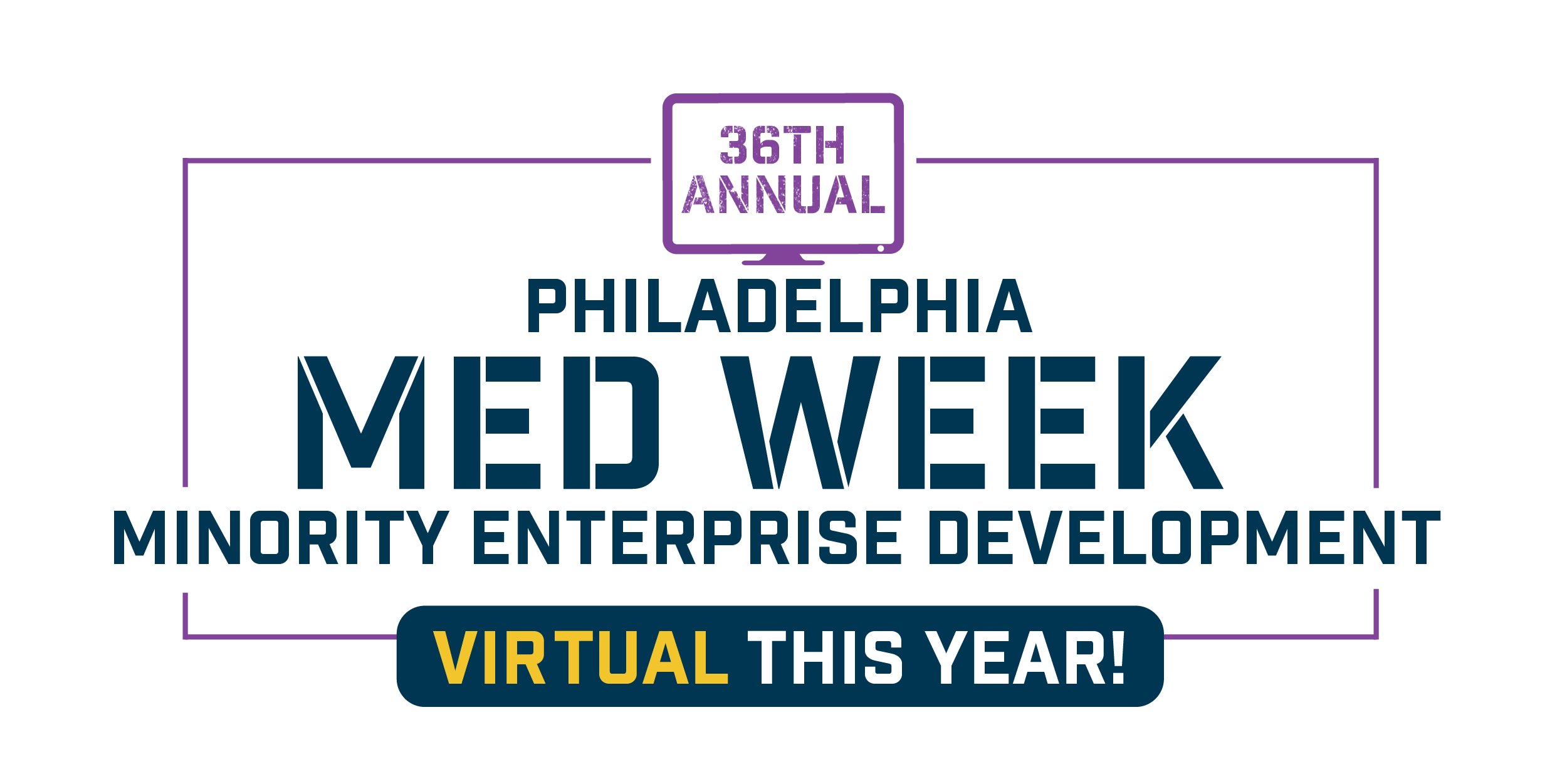 Med week logo 36 annual Virtual this year