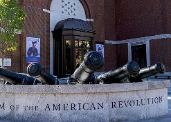 a photo of the Museum of the American Revolution